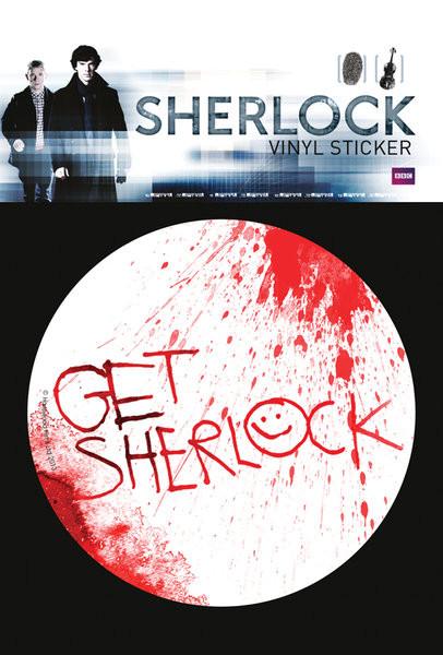 Samolepka Sherlock - Get Sherlock