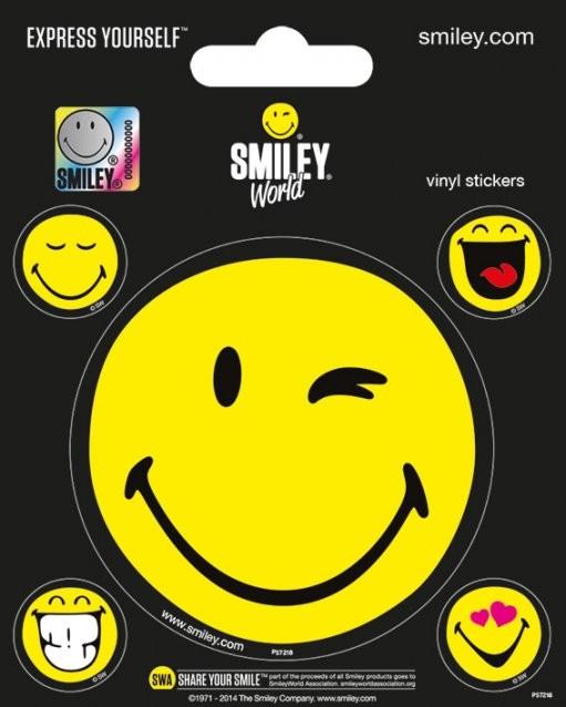 Samolepka  Smiley - Smileyworld