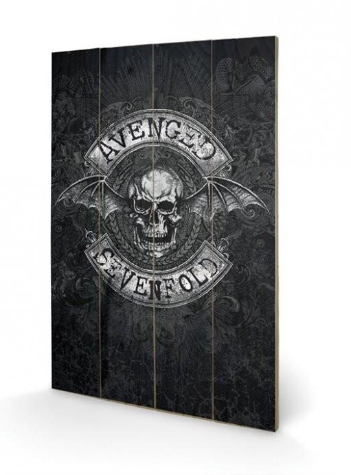 Avenged Sevenfold - Death Bat Schilderij op hout