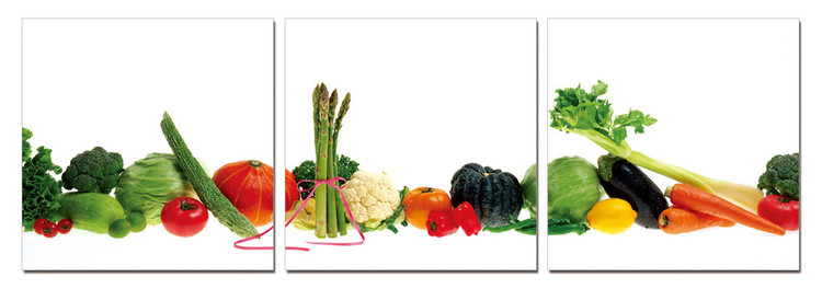 Fresh vegetables Schilderij