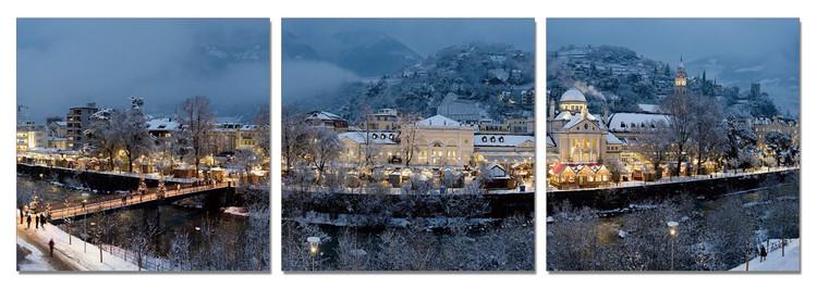 Karlovy Vary (Carlsbad) - Xmas Time Schilderij