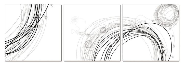 Modern Design - Lines Schilderij