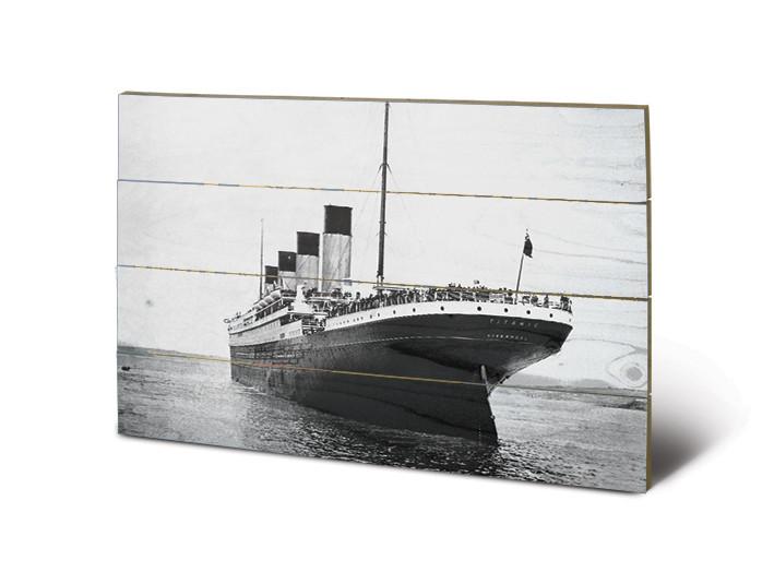 Titanic - New Promenades Schilderij op hout