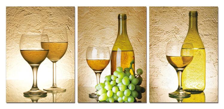 White Wine Schilderij