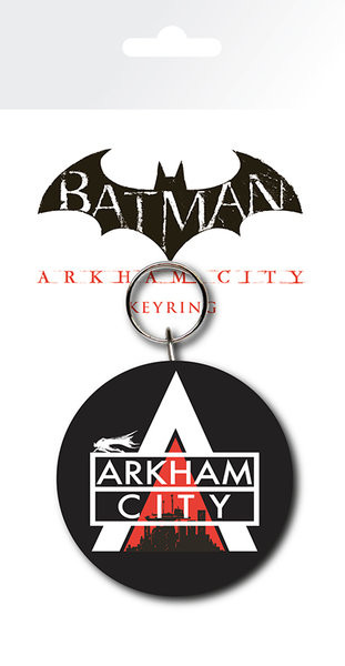 Schlüsselanhänger Batman Arkham City - Logo