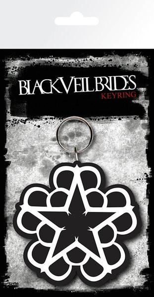 Schlüsselanhänger Black Veil Brides - Star