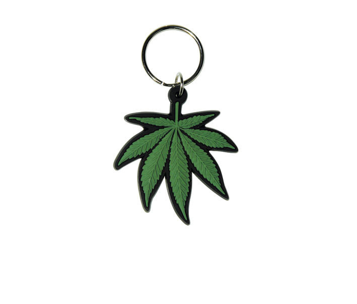 Schlüsselanhänger CANNABIS - Leaf
