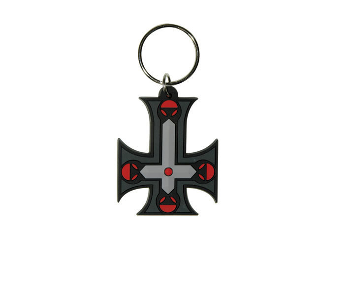 Schlüsselanhänger GOTHIC CROSS - Inverted