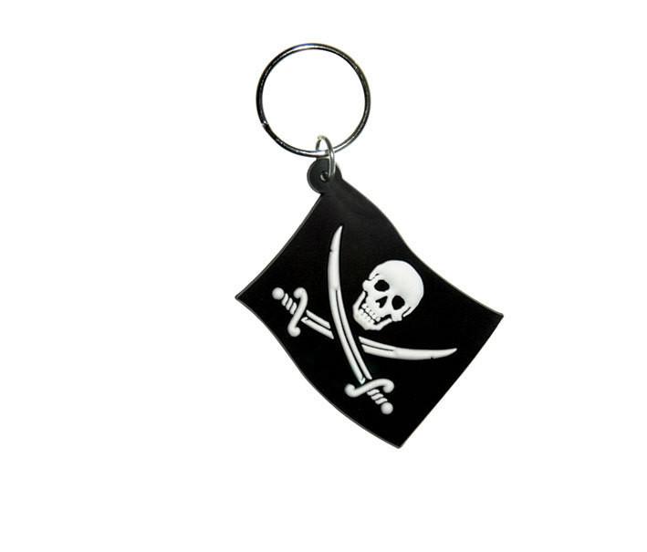 Schlüsselanhänger JOLLY ROGER - Flag