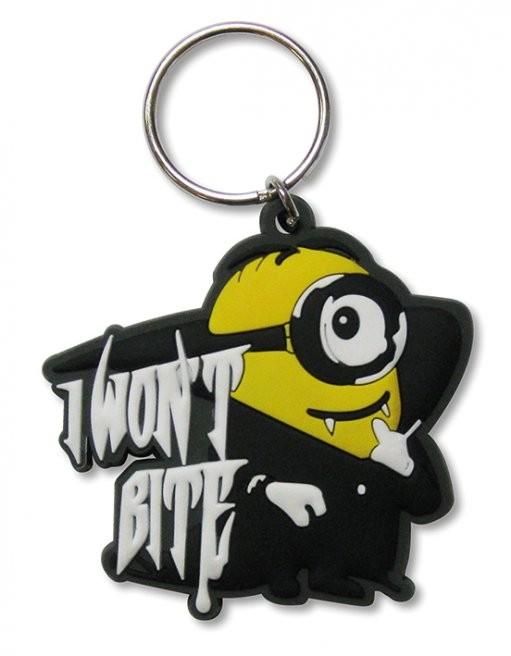 Schlüsselanhänger Minions (Despicable Me) - I won't bite