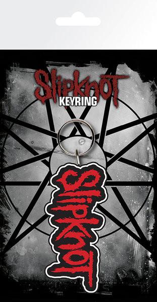 Schlüsselanhänger Slipknot - Logo