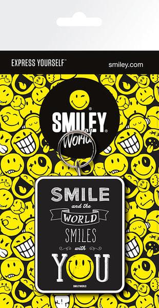 Schlüsselanhänger  Smiley - Smile