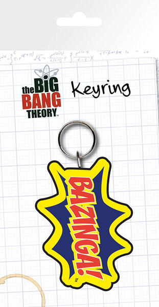 Schlüsselanhänger The Big Bang Theory - Bazinga