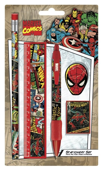 Schreibwaren MARVEL - stationery set