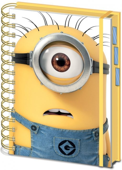 Schreibwaren Minions (Despicable Me) - Shocked Minion A5