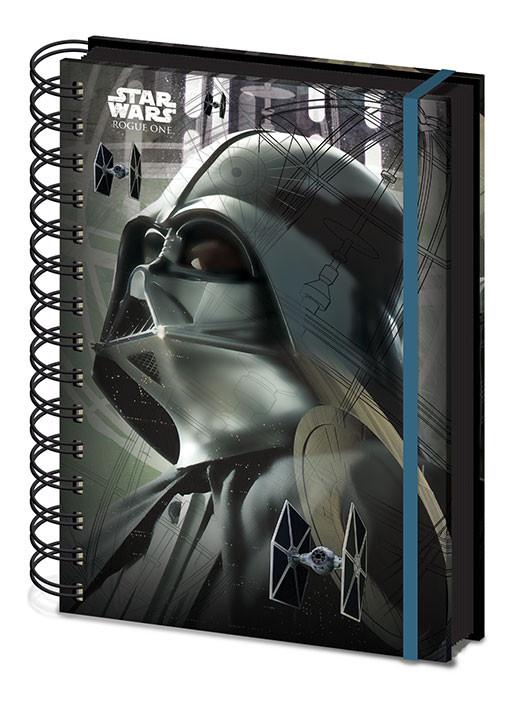 Schreibwaren Rogue One: Star Wars Story - Darth Vader A5 Notebook