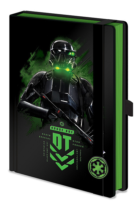 Schreibwaren Rogue One: Star Wars Story -  Death Trooper A5 Premium Notebook