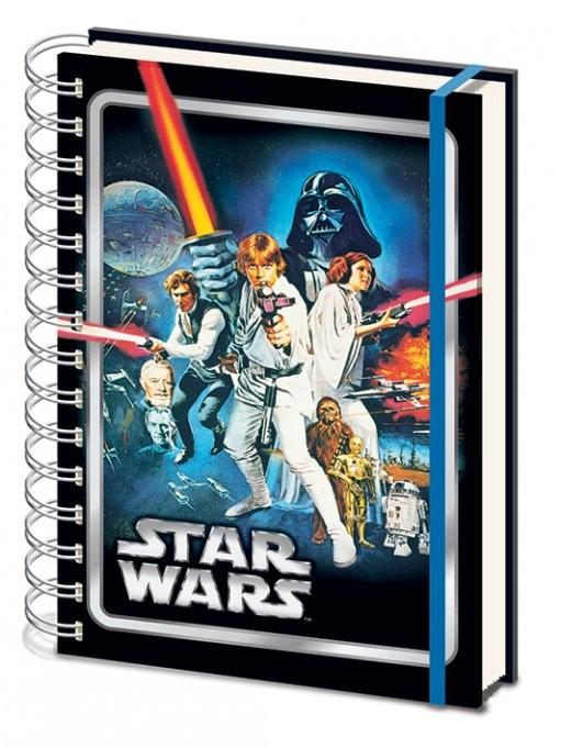 Schreibwaren Star Wars - A New Hope A5 Notebook