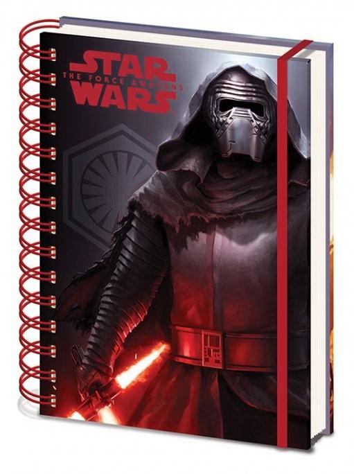Schreibwaren Star Wars: Episode VII – Das Erwachen der Macht - Dark A5 Notebook