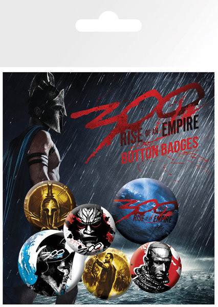 Set insigne 300: RISE OF AN EMPIRE