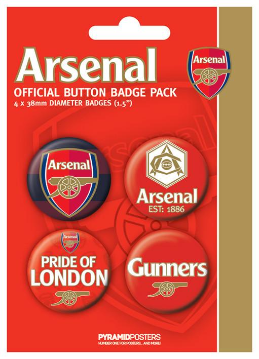 Set insigne ARSENAL FC - pride