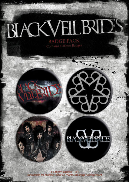 Set insigne BLACK VEIL BRIDES - p.1