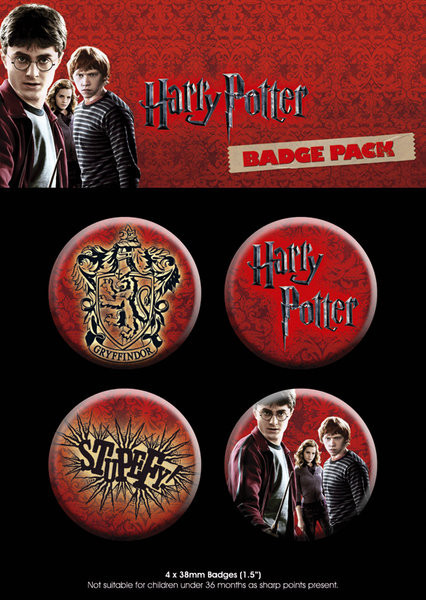 Set insigne HARRY POTTER 7