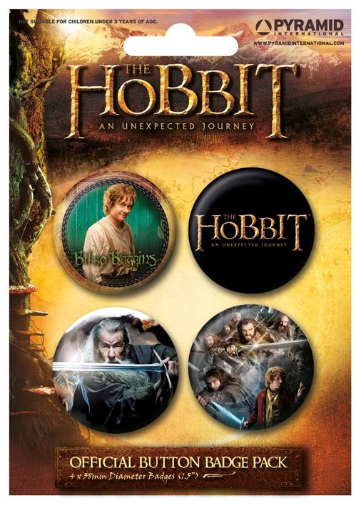 Set insigne HOBBIT