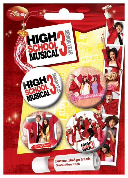 Set insigne HSM3 - Graduation