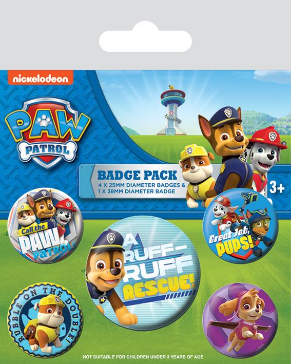 Set insigne  Paw Patrol