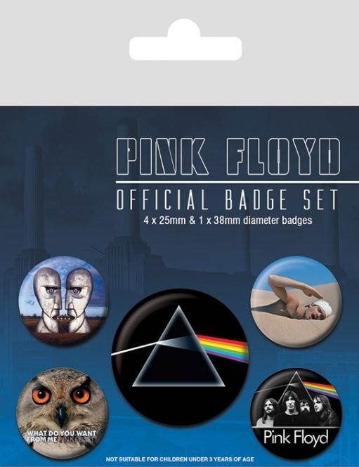 Set insigne  Pink Floyd