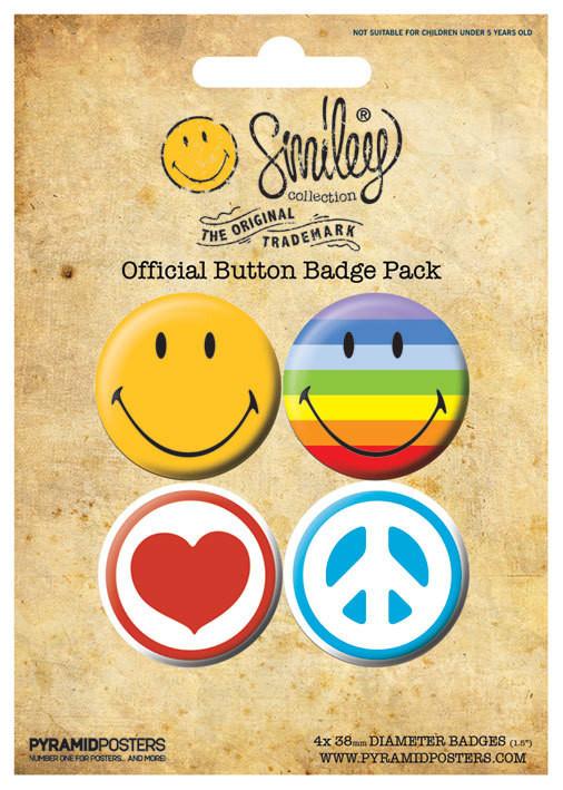 Set insigne SMILEY ICONS