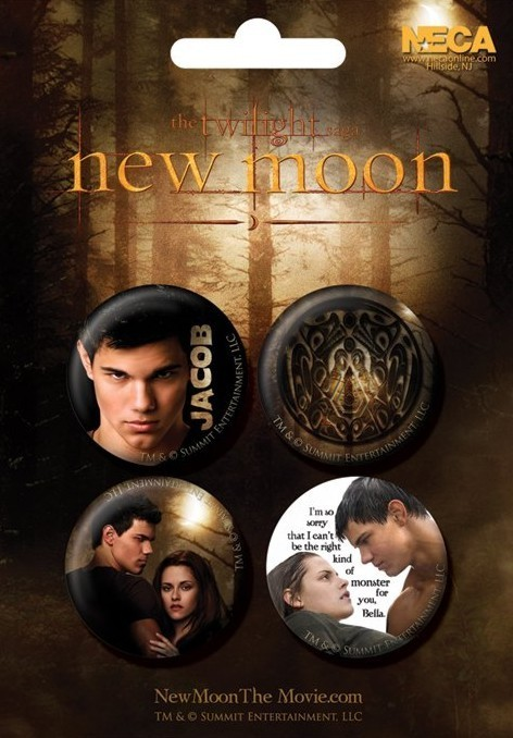 Set insigne TWILIGHT NEW MOON - jacob