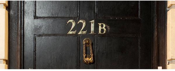 Hrnek Sherlock - 221B
