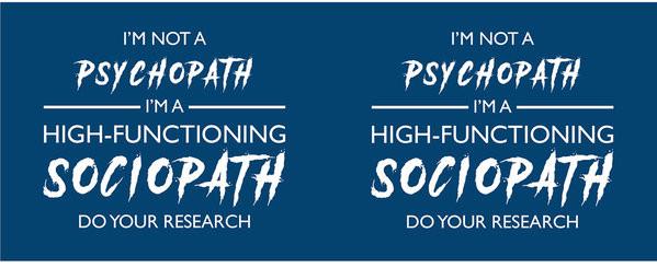 Taza Sherlock - I'm Not a Psychopath