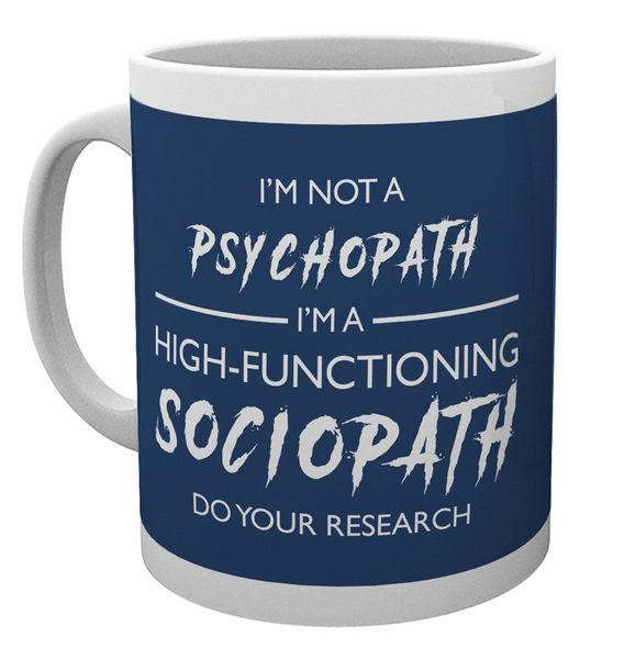 Hrnek Sherlock - I'm Not a Psychopath