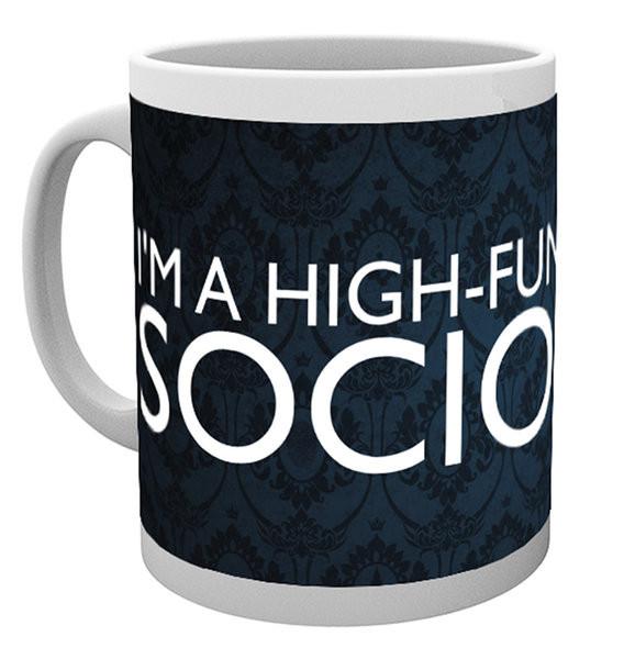 Hrnek Sherlock - Sociopath