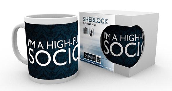 Cană Sherlock - Sociopath