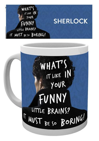 Hrnek Sherlock - What's It Like