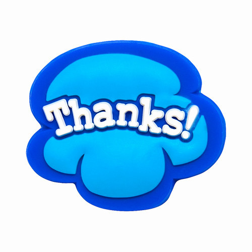 THANKS! - díky Shoebadges