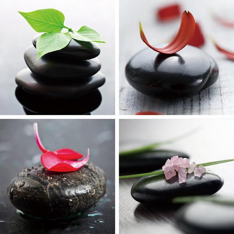 Skleněný Obraz Barevný Zen