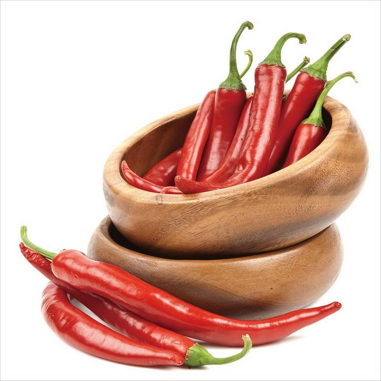 Skleněný Obraz Chilli papričky