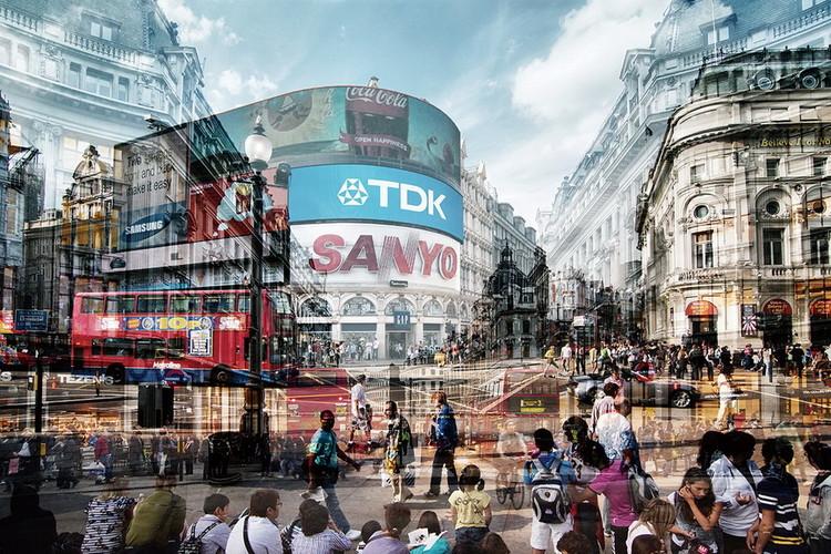 Skleněný Obraz Londýn - Picadilly Circus