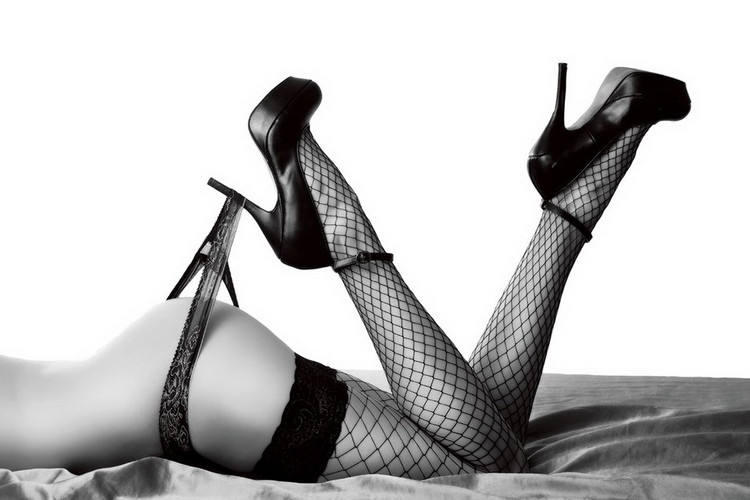 Skleněný Obraz Vášnivá žena - Sexy nohy