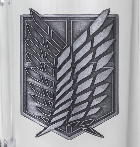 Sklenice  Attack on Titan (Shingeki no kyojin) - Scout Symbol