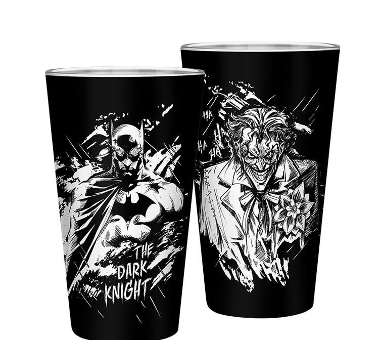 Sklenice  DC Comics - Batman & Joker
