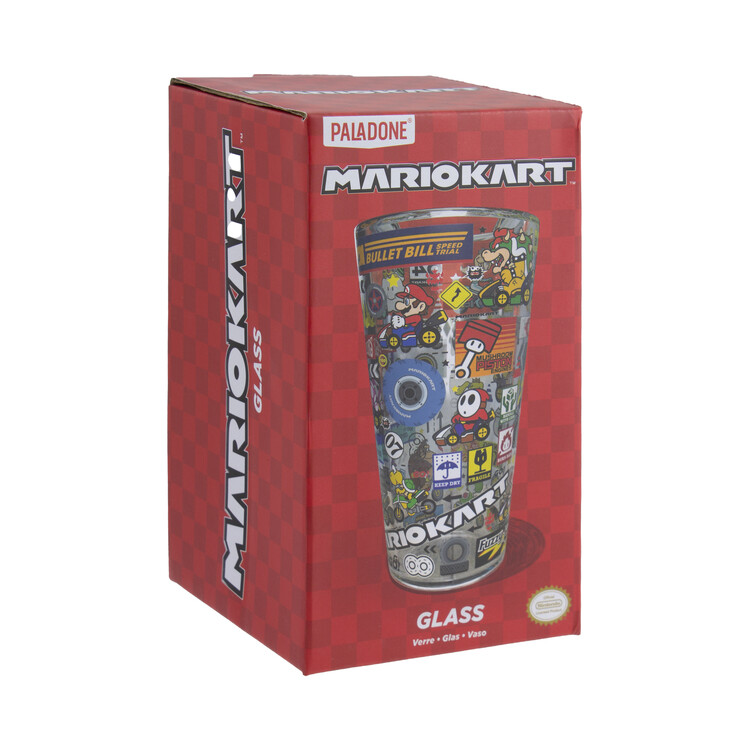 Sklenička Mario Kart