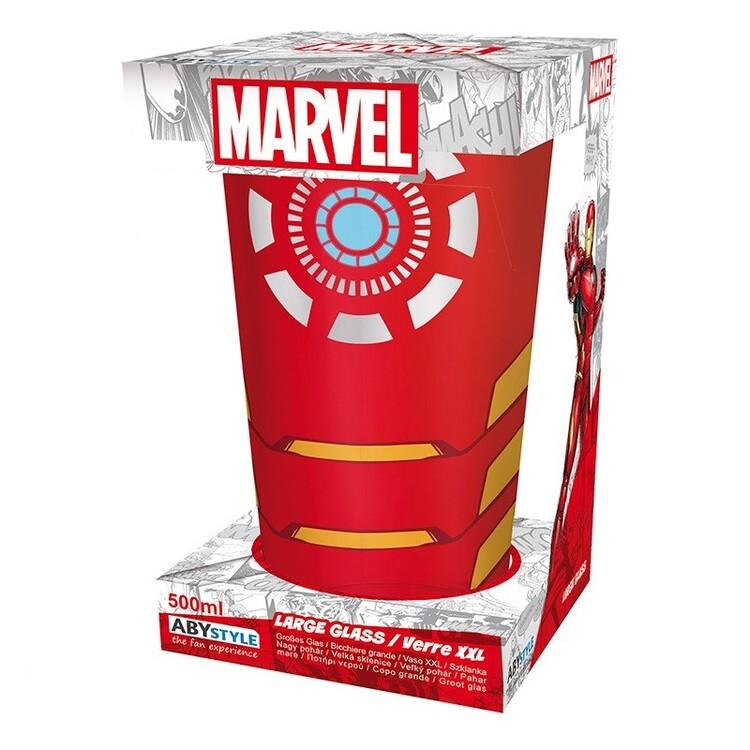Sklenička Marvel - Iron Man