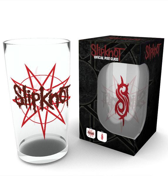 Sklenice Slipknot - Logo (Bravado)
