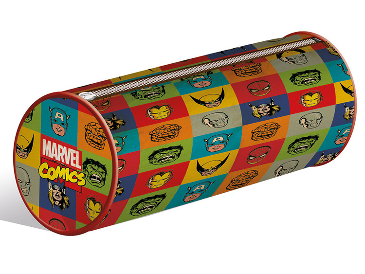 Marvel Retro - Faces pencil case Skolesager